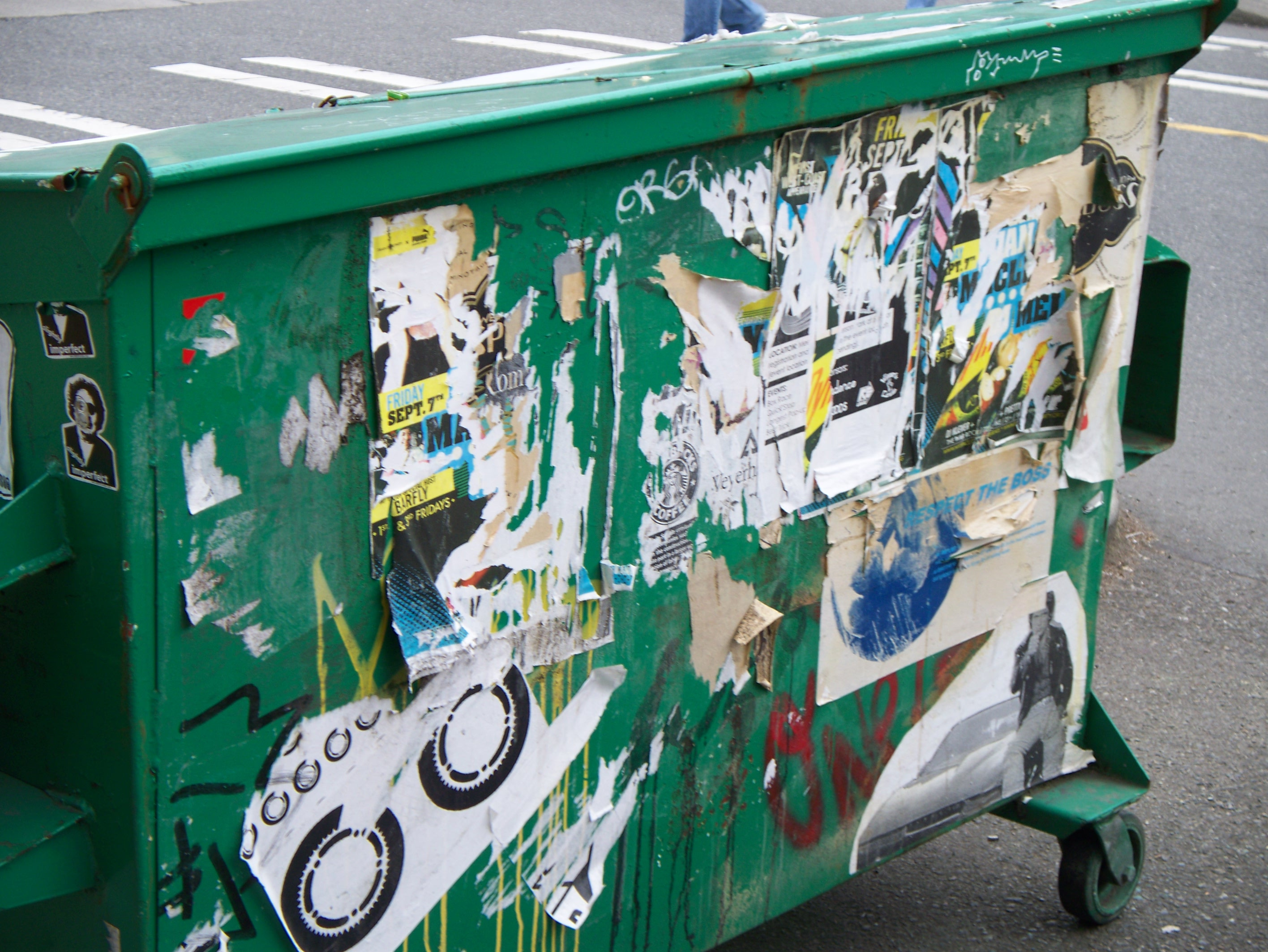 Dumpster by the Trivia King