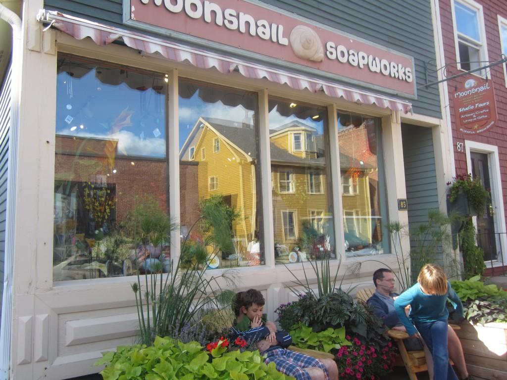 Moonsnail Soapworks in Charlottetown PEI