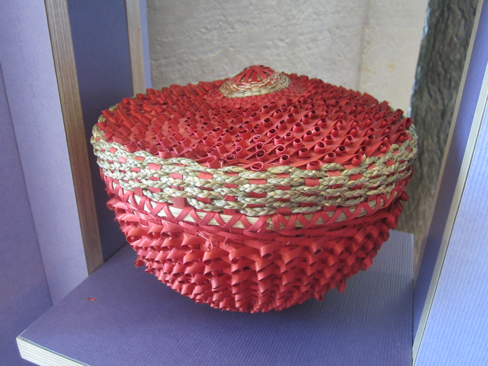 Incredible red basket - National Museum of the American Indian