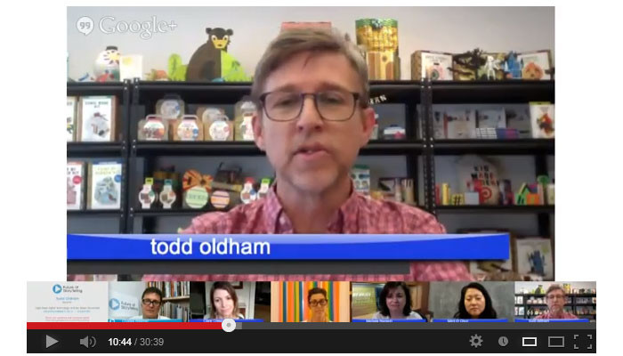 Future of Storytelling Google Hangout - Todd Oldham
