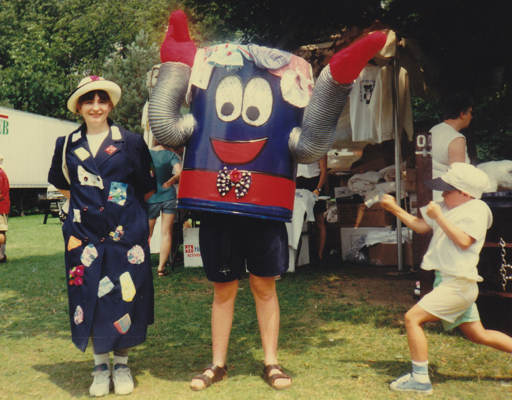 Recycling Together mascot, Summer 1994