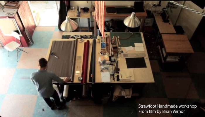 Strawfoot Handmade Workshop - from film by Brian Vernor