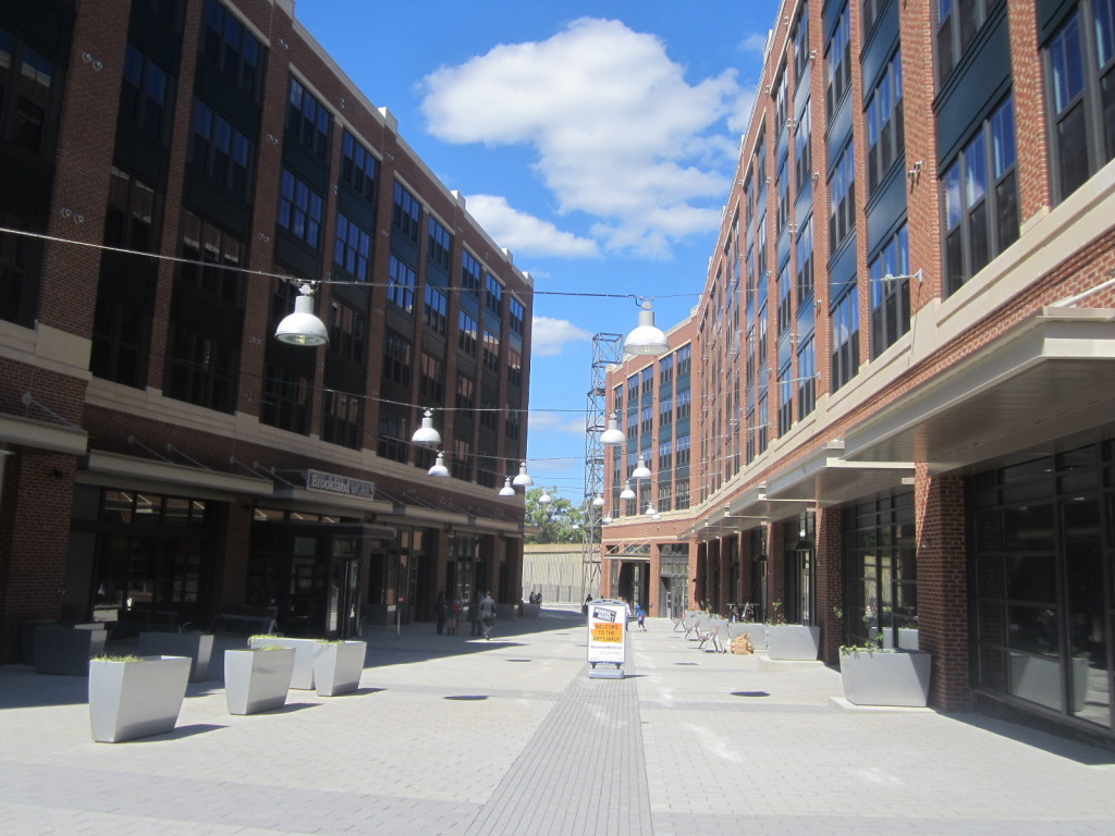 Munroe Street Market by Brookland Metro Station in Washington DC