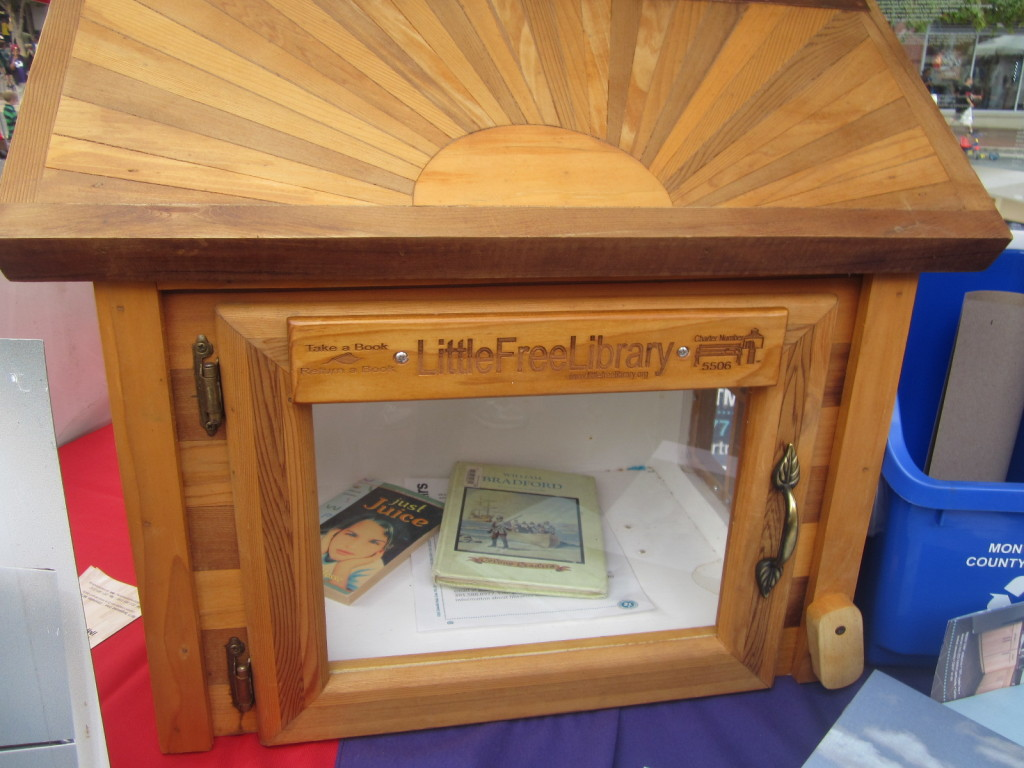 Little Free Library - share books in your neighborhood