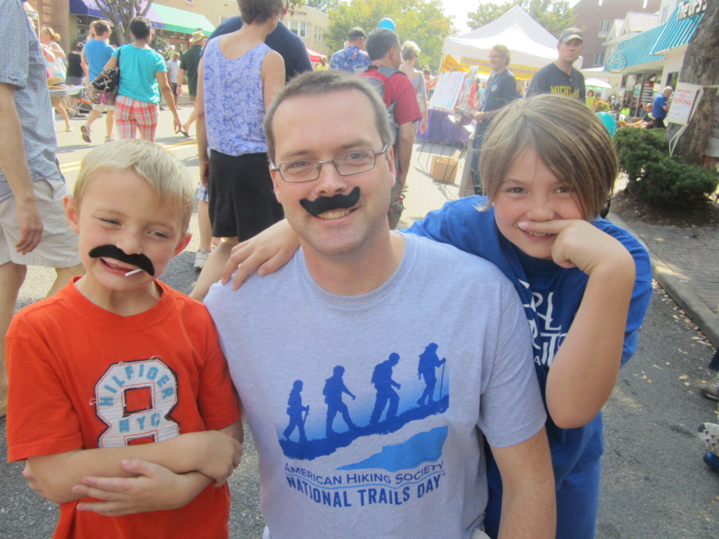 My Family with Mustaches