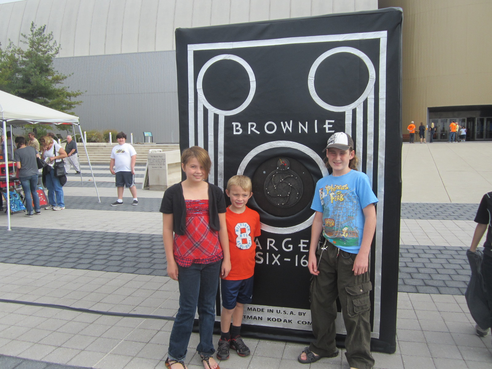 Giant replica of a Brownie camera by Stephen