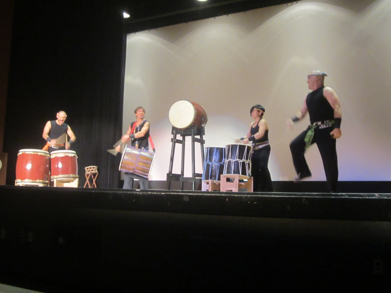 Taiko Performance by Kizuna and Ryo Shimamoto