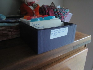My Daily Gratitude Journal in a Box