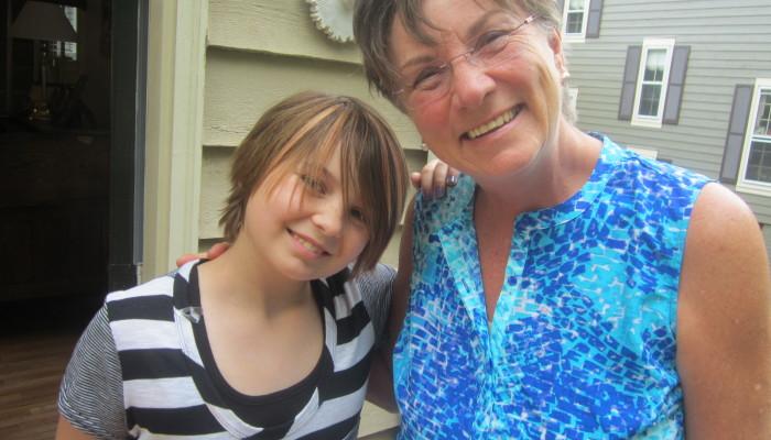 Nora and Mom, May 2014