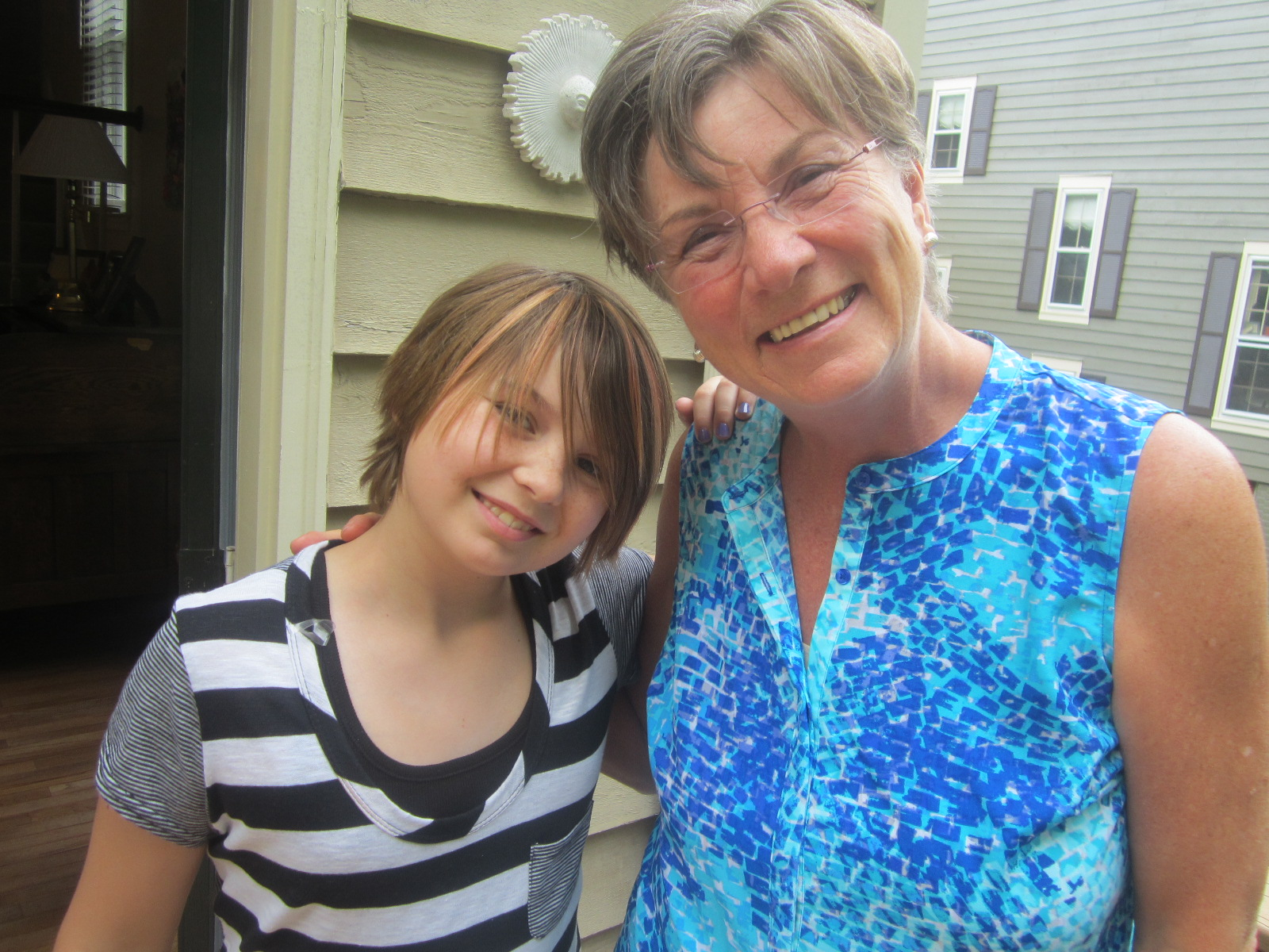 Nora and Mom, May 2014