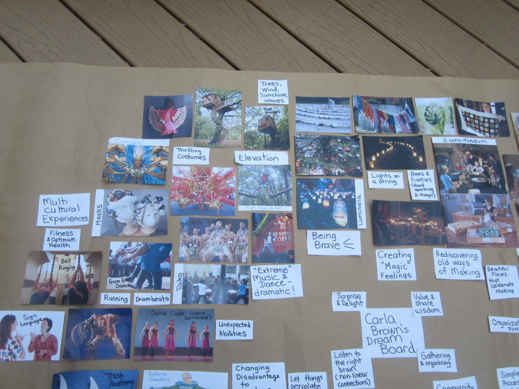 Dream Board Upper Left Quadrant