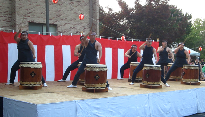 Nen Daiko playing Rouga, July 12, 2014
