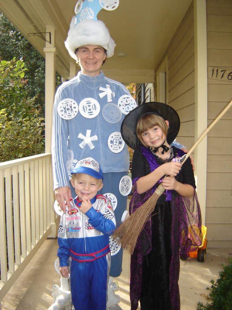 Snow Storm Halloween Costume, 2009