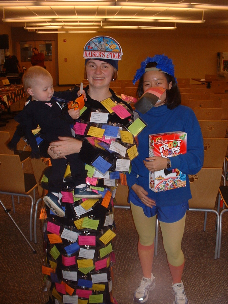 2004 Halloween costume - Raiser's Edge database