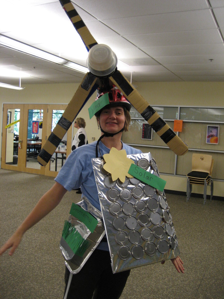 Renewable Energy Halloween Costume
