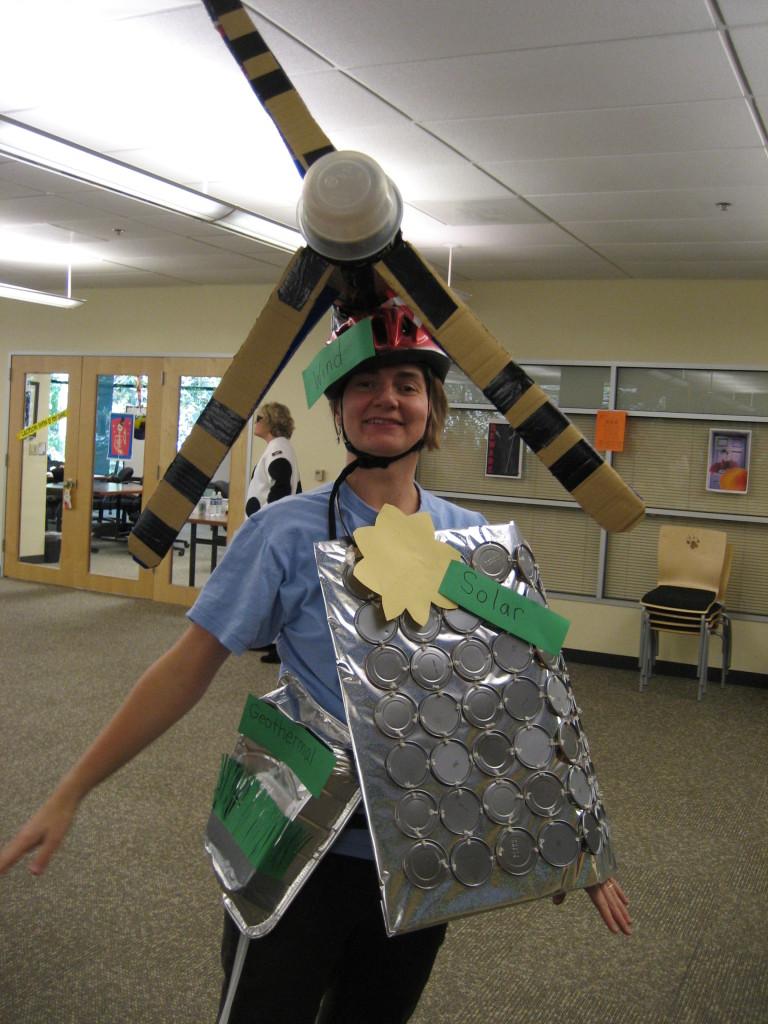Renewable Energy Halloween Costume