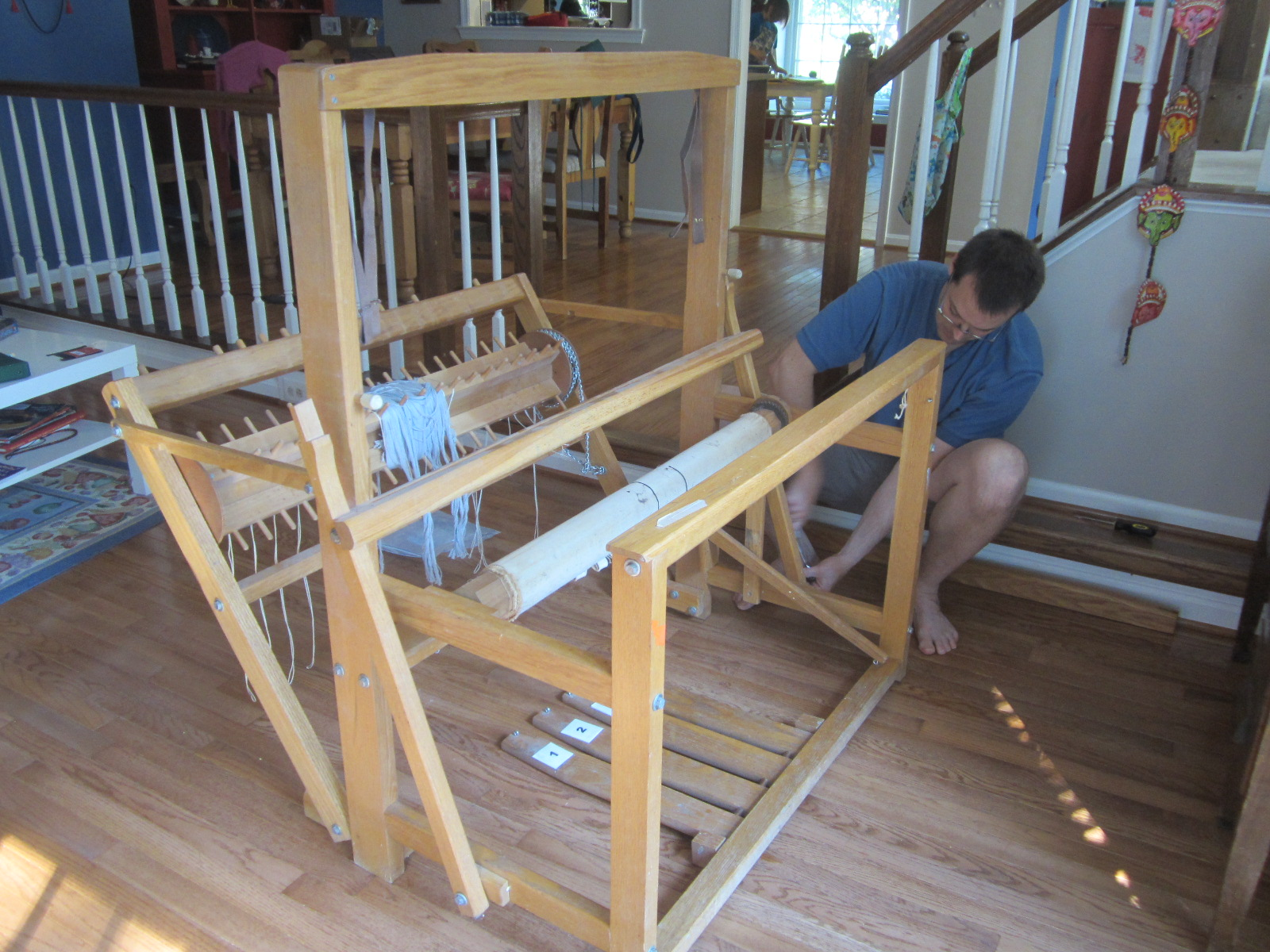 The almost assembled loom