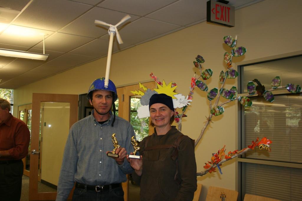 Four Seasons Costume, 2011 - with David's Wind Turbine
