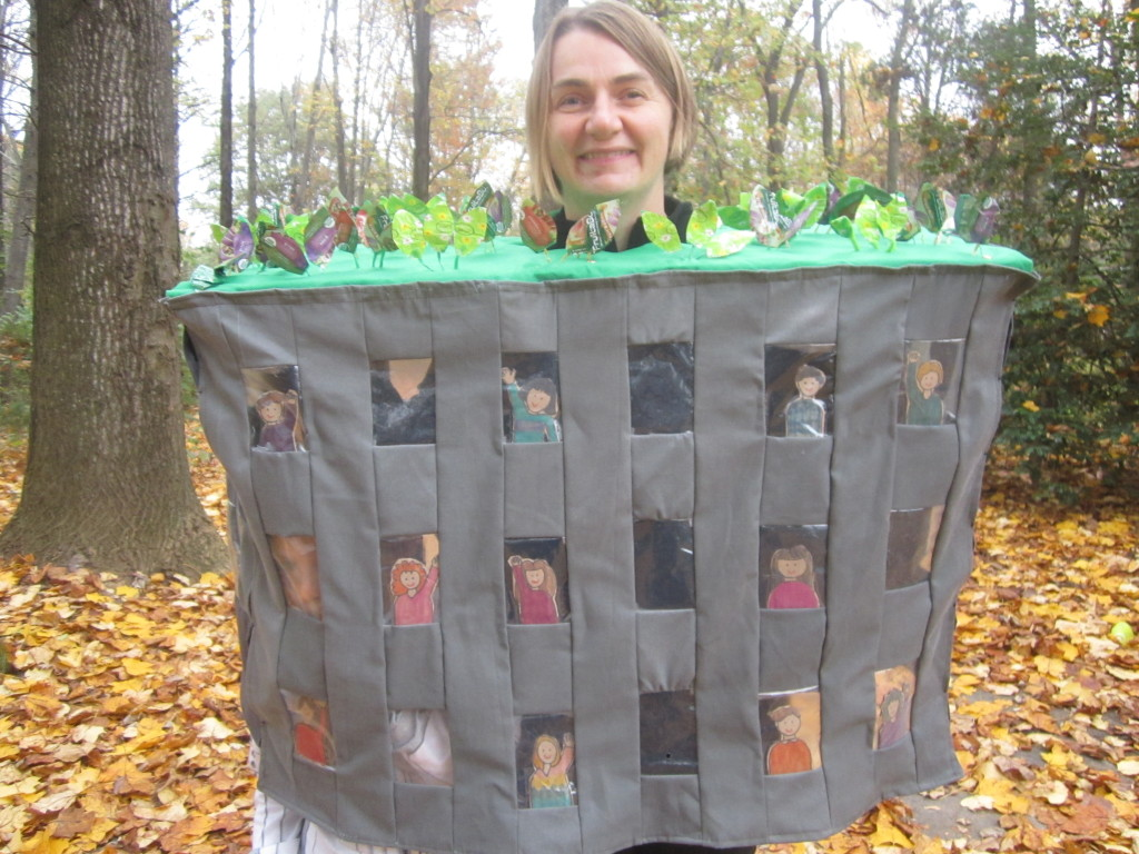 Green Roof on PS 41 Halloween Costume, 2012