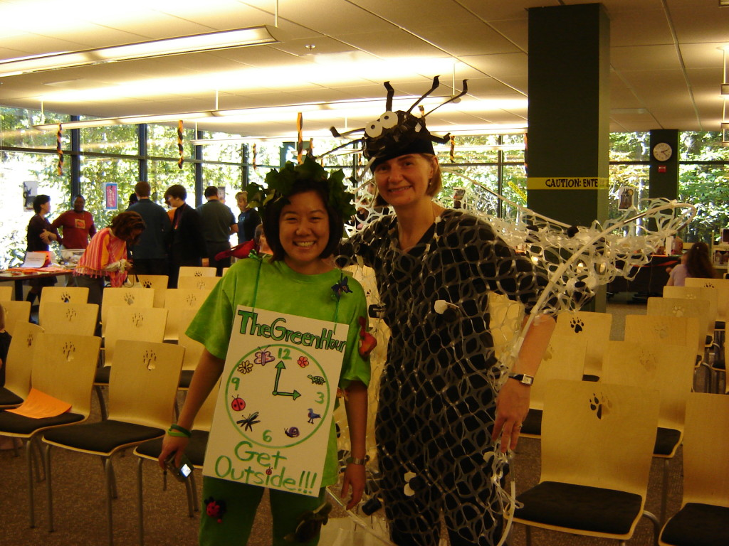 Spider Web Costume with Kim Hirose