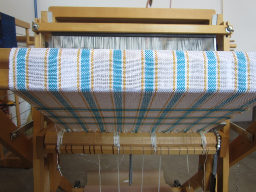 A great start to my first woven towel