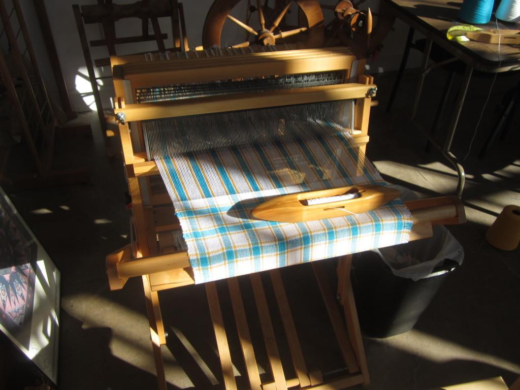 Weaving in the sunshine