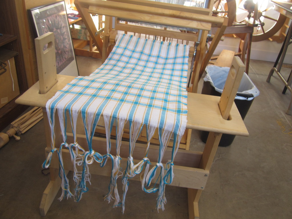 Towel #2, just removed from the loom