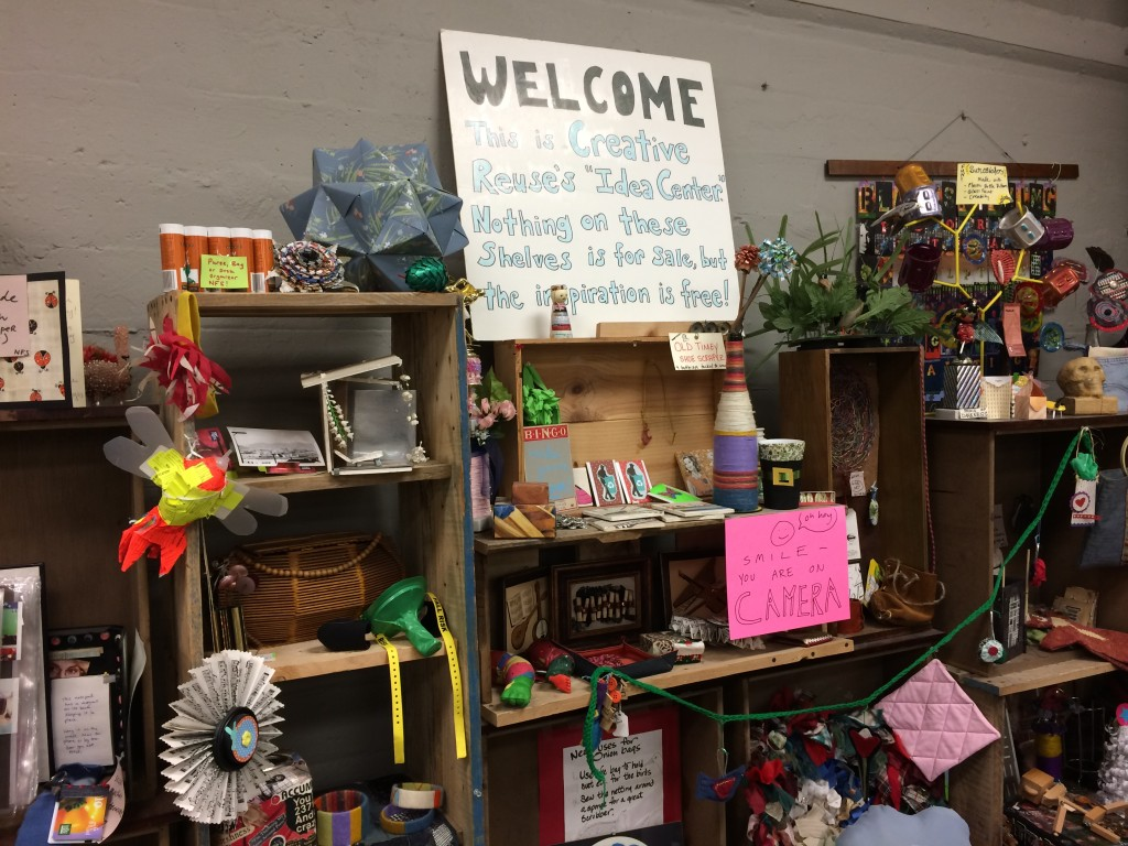 Idea Center at the Pittsburgh Center for Creative Reuse