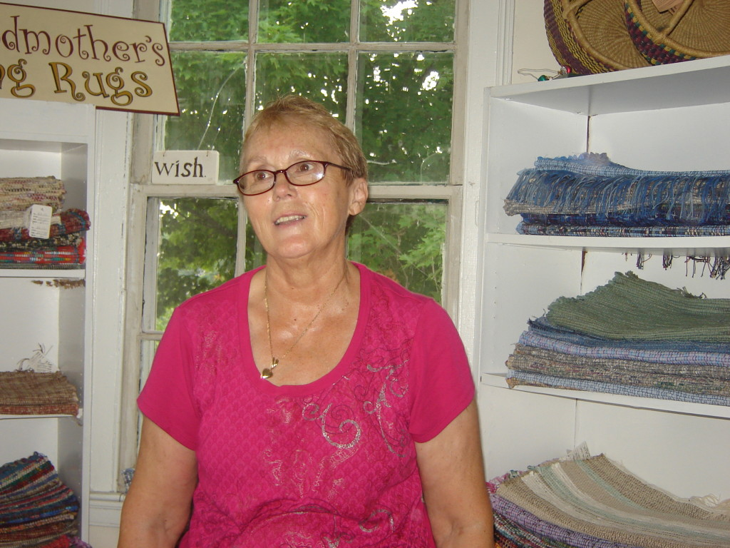Hilary Cooper-Kenny, owner of Crazy as a Loom Weaving Studio