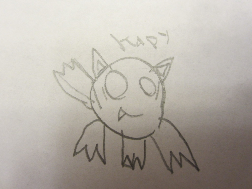 Russell's drawing of Kapy