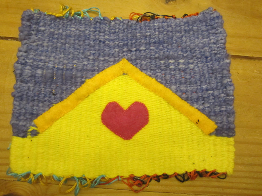 Falling in love for my Golden Moments weaving project