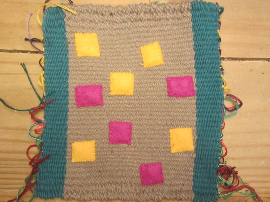 Project management for my Golden Moments weaving project