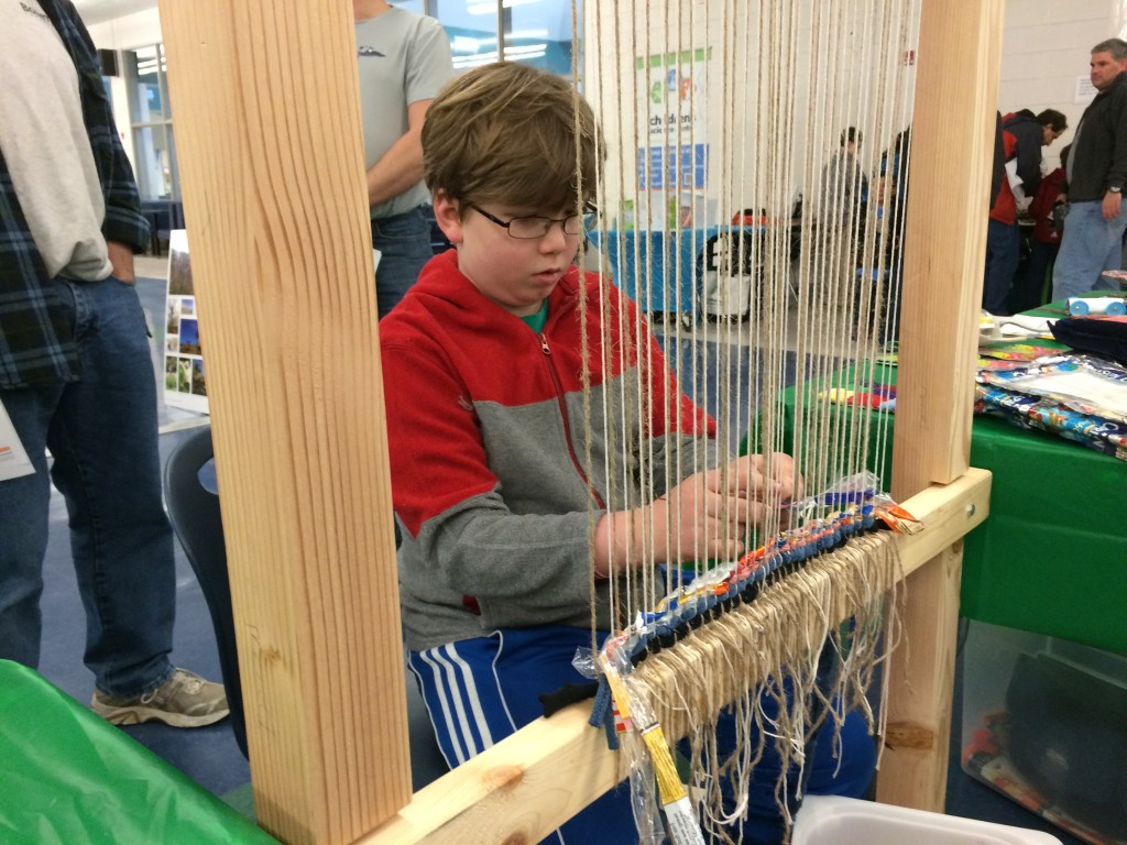 One of our first weaving supporters