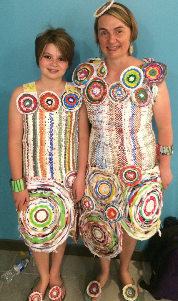 Trashmagination's full outfits at the Trashion Fashion DC show