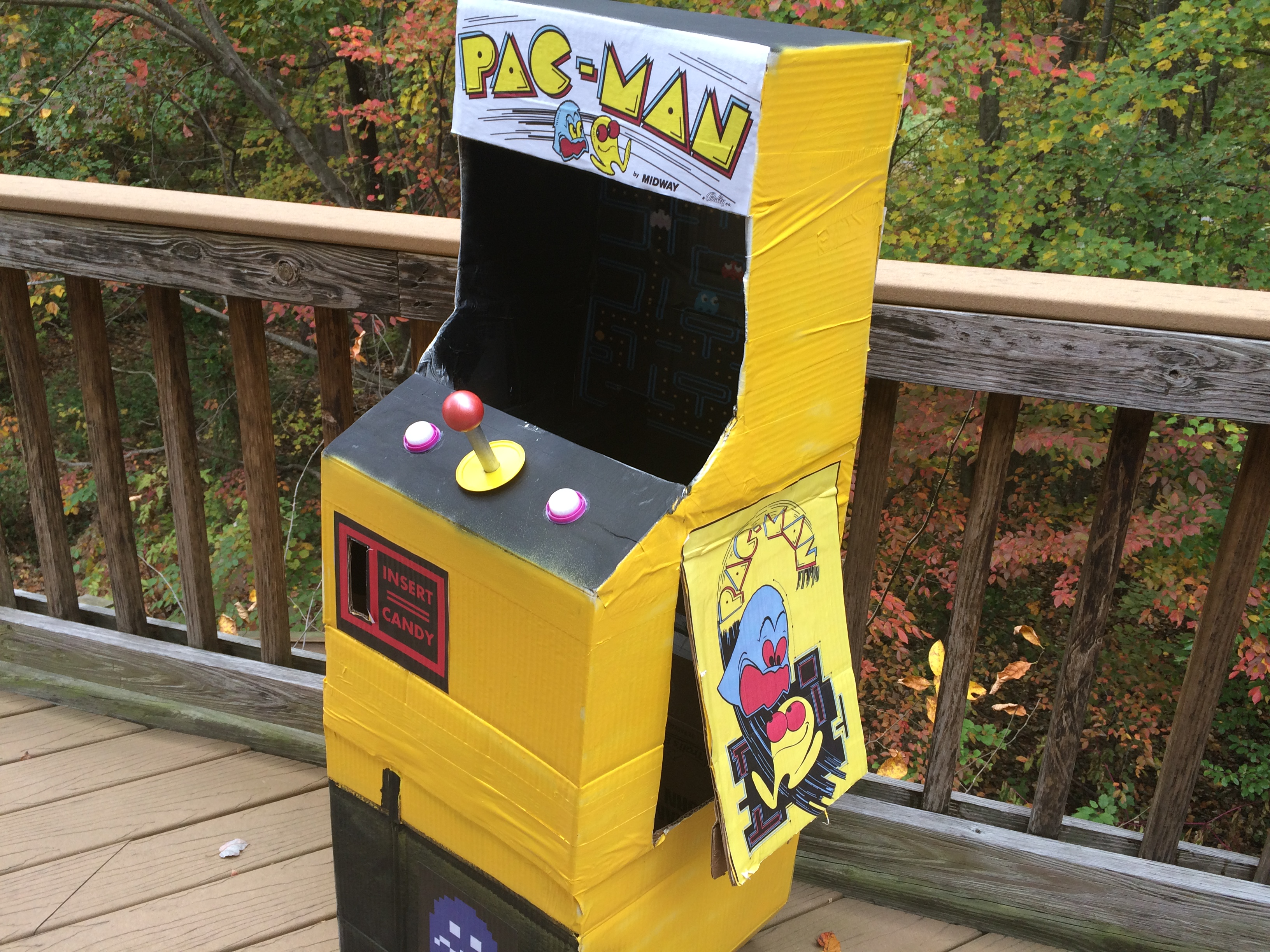 Pac-Man Arcade Halloween costume