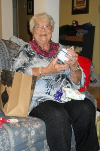 Nanny on Christmas Day 2015