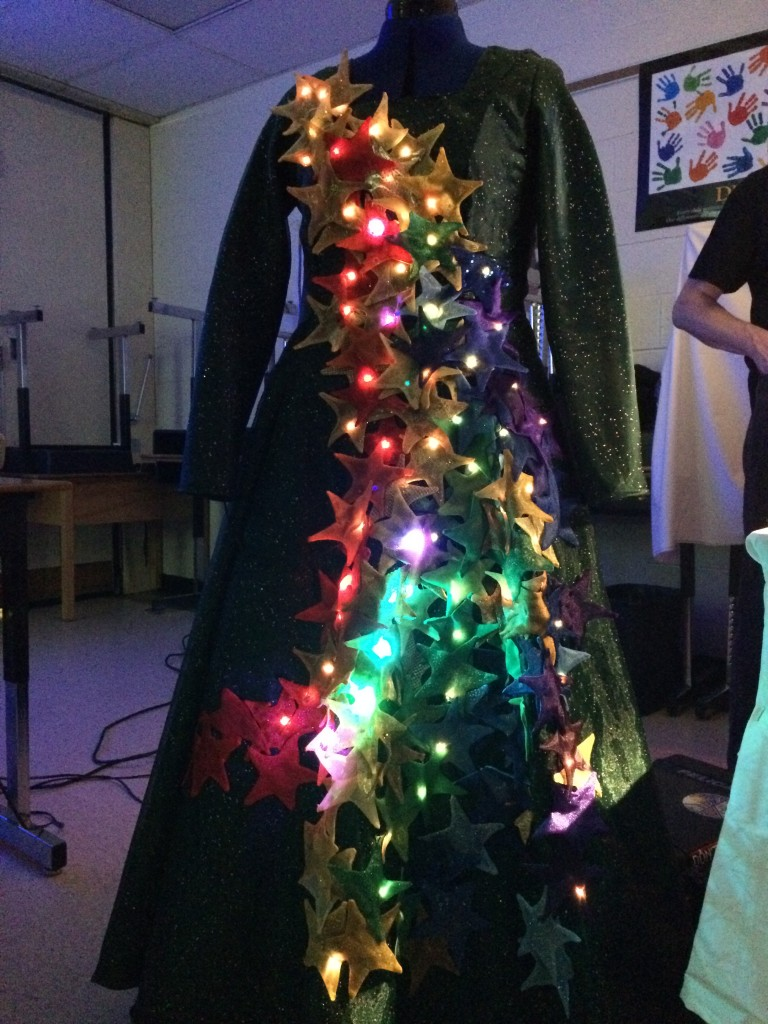 Soft Circuits Petting Zoo - light up dress