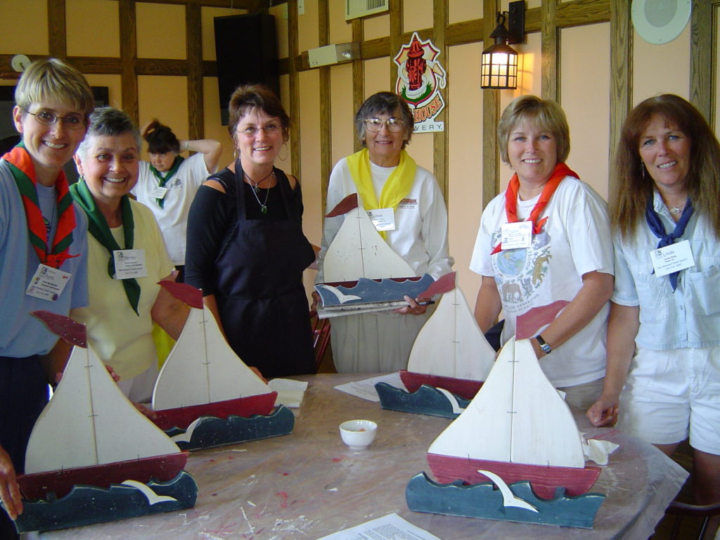 My Mom's Sailboat Bird Feeder Class at Family Nature Summit