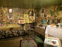 Maud Lewis home interior, Art Gallery of Nova Scotia