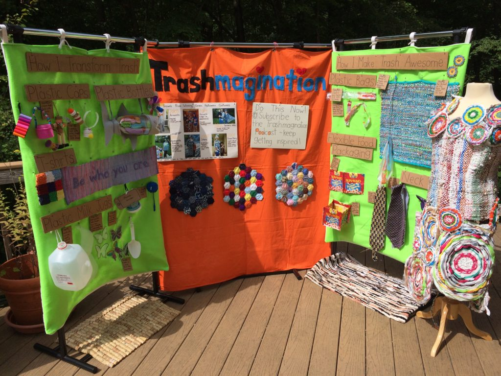 Trashmagination's Display for KIDfest
