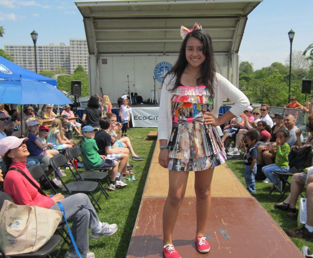Alexandria Earth Day 2012 - Trash Fashion