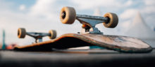 Skateboard photo by Lukas Bato, Unsplash