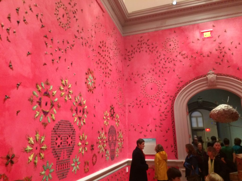 In the Midnight Garden by Jennifer Angus at the Renwick Gallery, December 2015