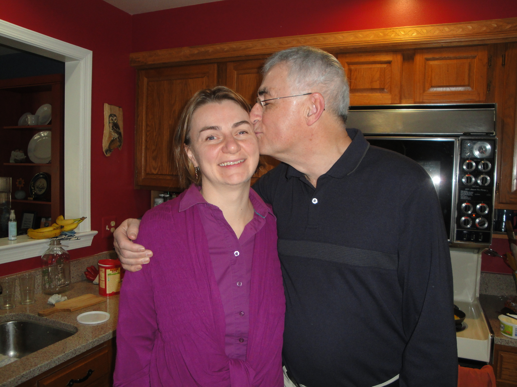 Me and my dad, January 2012