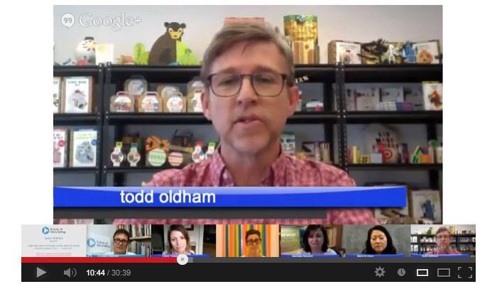 Future of Storytelling Google Hangout - Todd Oldham