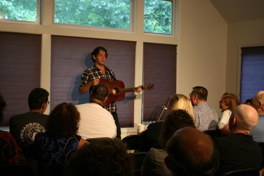 Aengus Finnan house concert
