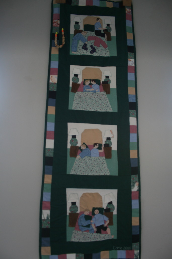 Stages of Sleep Quilt by Carla Brown