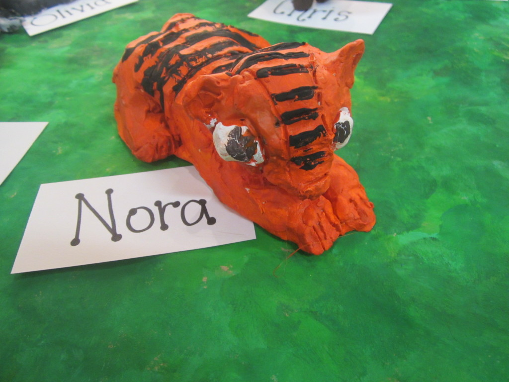 Nora's clay tiger - endangered species