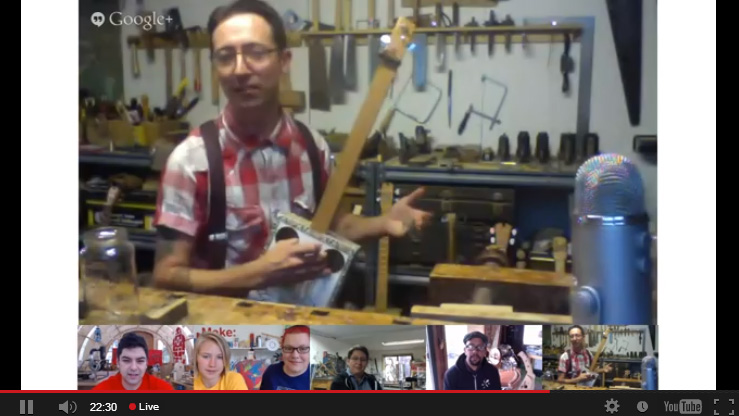 Zeke Leonard - Handmade guitars - Maker Camp