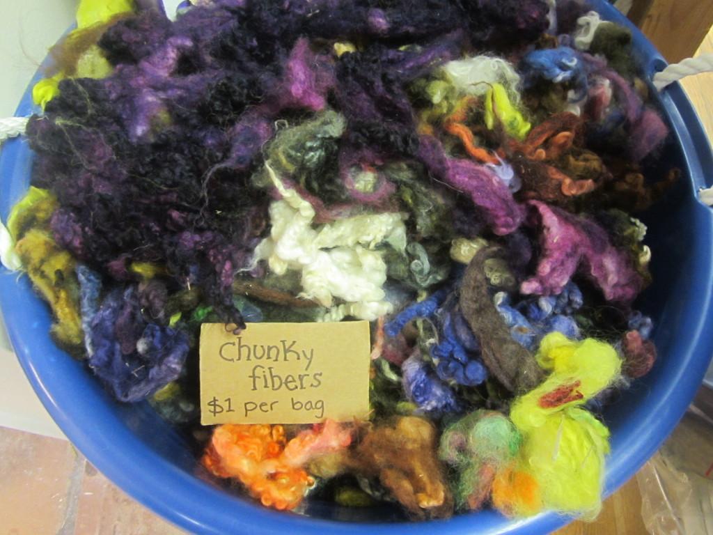 Yummy fiber - for rug hooking
